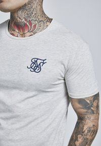 SIKSILK - GYM TEE - T-shirt basic - snow marl - 4