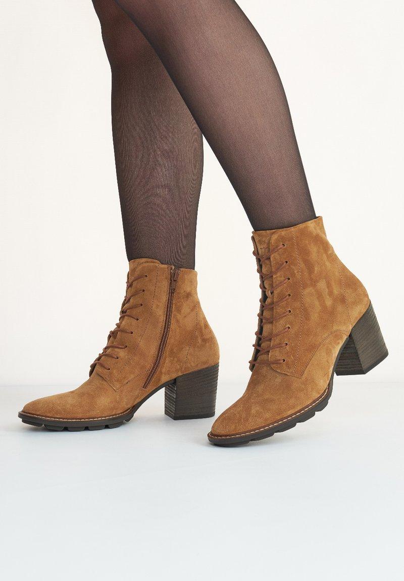 Paul Green - Ankle boots - cognac-braun 027