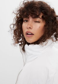 Bershka - Winter jacket - white - 3