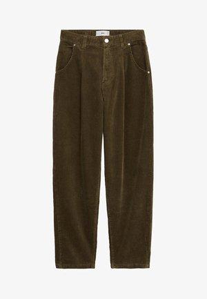 PANNA - Spodnie materiałowe - khaki