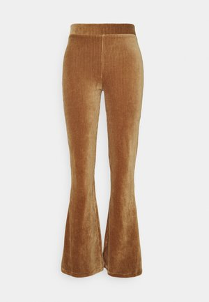 ERIKA TROUSERS - Trousers - camel