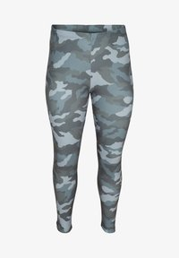 Zizzi - Leggings - Trousers - green - 2