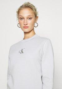 Calvin Klein Jeans - CUT OUT BACK  - Sweatshirt - antique grey - 3