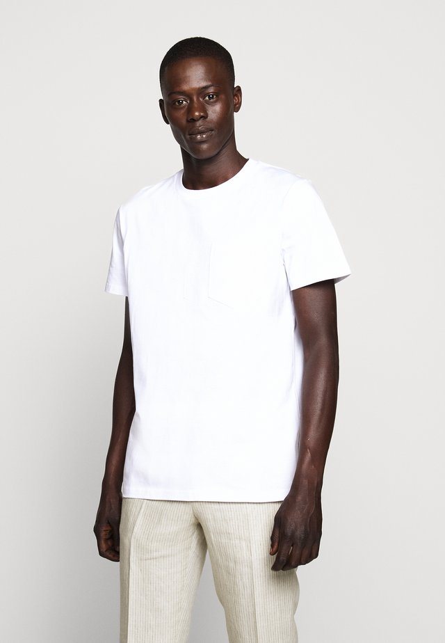 JEFFERSON - Basic T-shirt - white