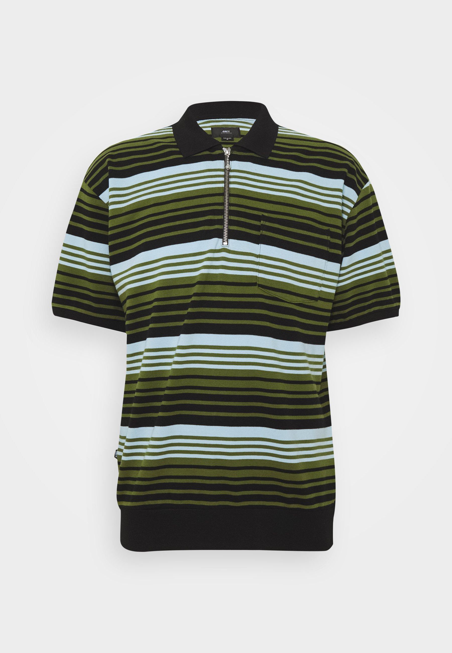Obey Clothing ESTATE - Poloskjorter - black/multi