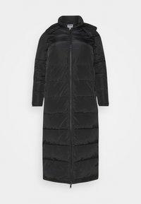 Noisy May Tall - NMMAI LONG JACKET - Winter coat - black - 0