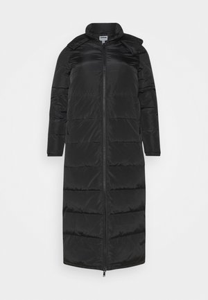 NMMAI LONG JACKET - Vinterfrakker - black