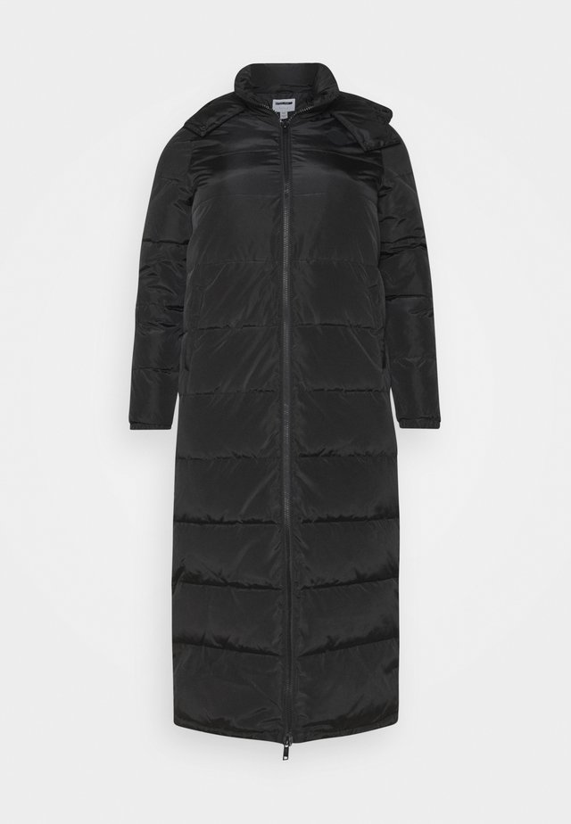 NMMAI LONG JACKET - Wintermantel - black