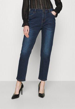 NMOLIVIA - Jeans Skinny Fit - dark blue denim