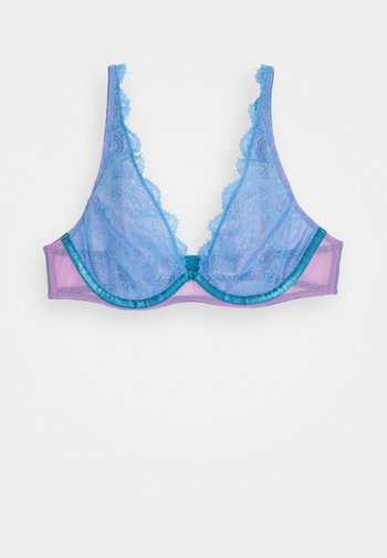 JESSICA HIGH APEX UNDERWIRE - Underwired bra - pastel blue