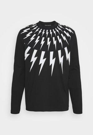 THUNDERBOLT LONG SLEEVE - Maglietta a manica lunga - black/white