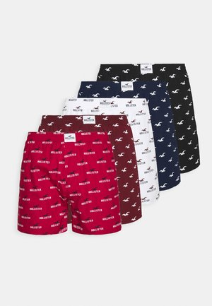 CORE PATTERN 5 PACK  - Boxer shorts - red
