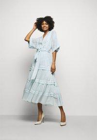 Temperley London - ABBEY DRESS - Společenské šaty - powder blue - 1