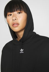 adidas Originals - CROPPED HOODIE - Huppari - black - 3