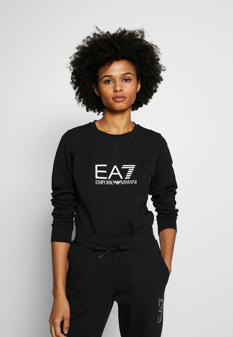 EA7 Emporio Armani - Sweatshirt - black/white