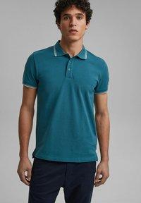edc by Esprit - Polo shirt - petrol blue - 4