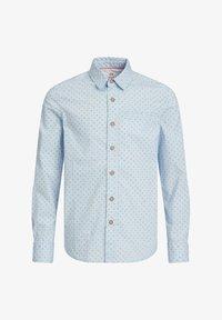 WE Fashion - JONGENS OVERHEMD MET DESSIN - Shirt - light blue - 0