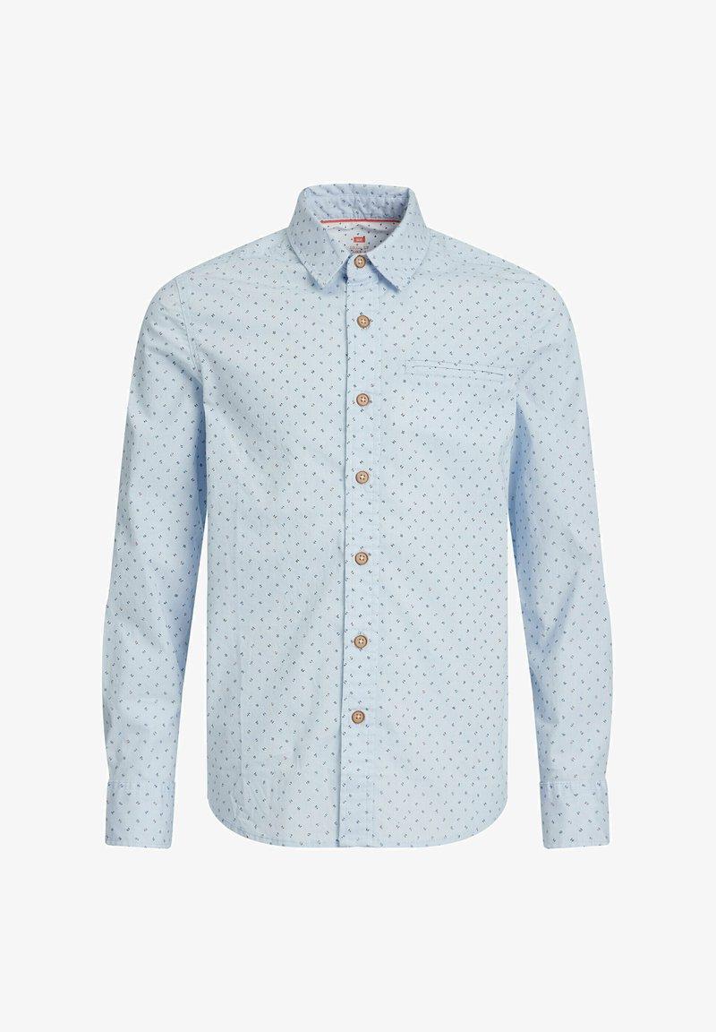 WE Fashion - JONGENS OVERHEMD MET DESSIN - Shirt - light blue