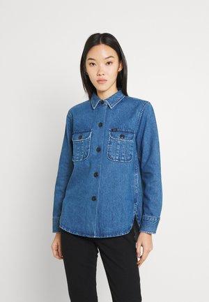 OVERSHIRT - Button-down blouse - washed nova