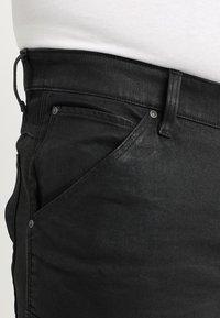 G-Star - 5620 3D SKINNY PM - Jeans Skinny Fit - loomer black rop stretch denim dk aged cobler - 5