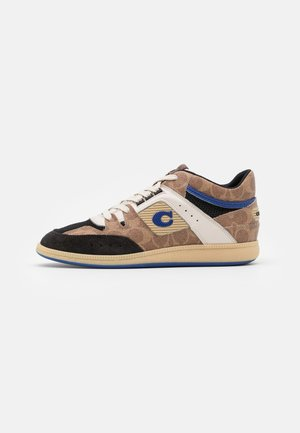 CITYSOLE SIGNATURE MID TOP - High-top trainers - tan/black