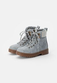 Cotton On - CRAFTED HIKER BOOT - Botines con cordones - winter grey - 1
