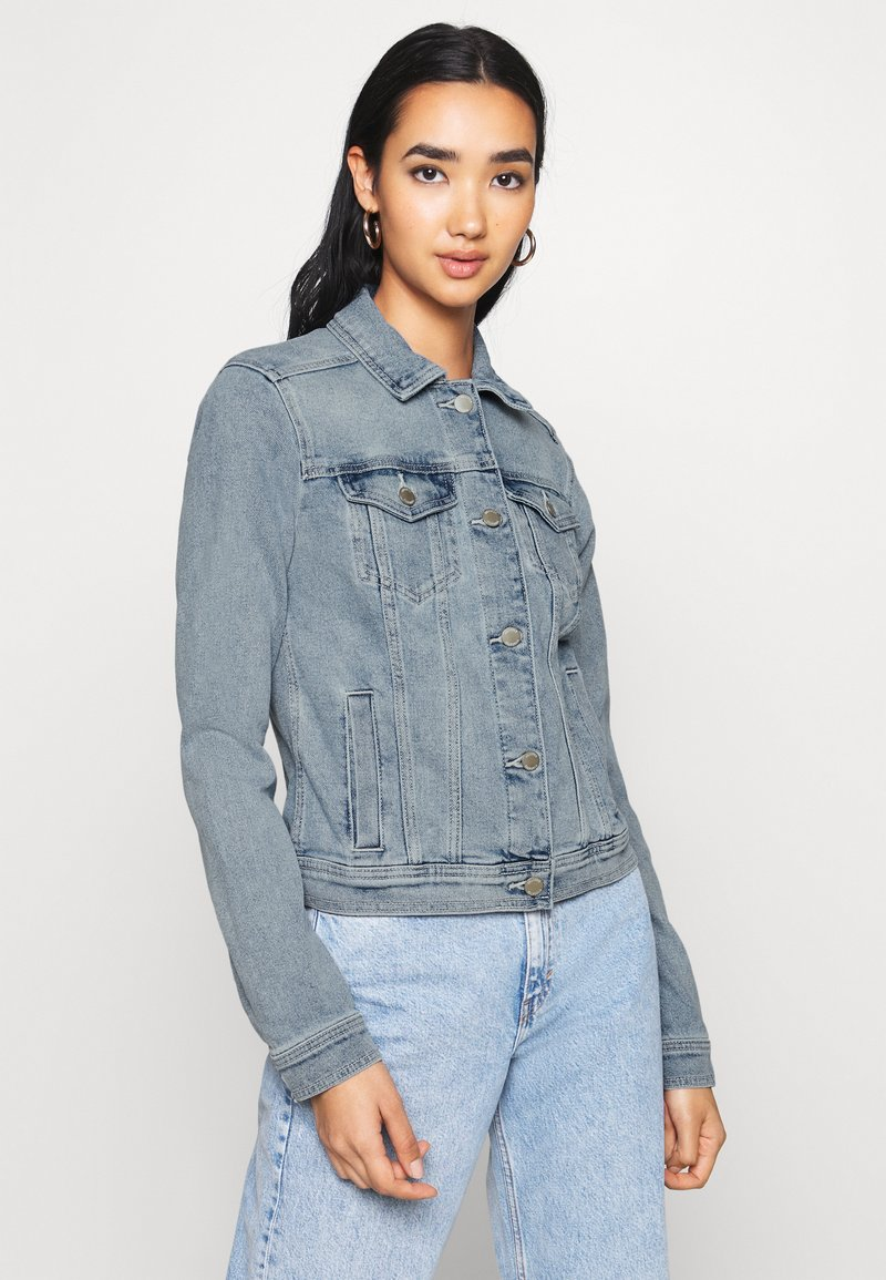 Hollister Co. - CLASSIC JACKET - Džínová bunda - medium wash denim