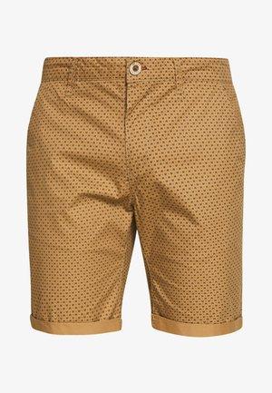 Shorts - tiger brown