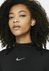 Nike Sportswear - MOCK - Topper langermet - black - 3