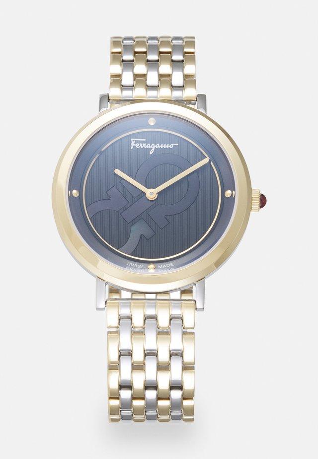FERRAGAMO LOGOMANIA - Horloge - silver-coloured
