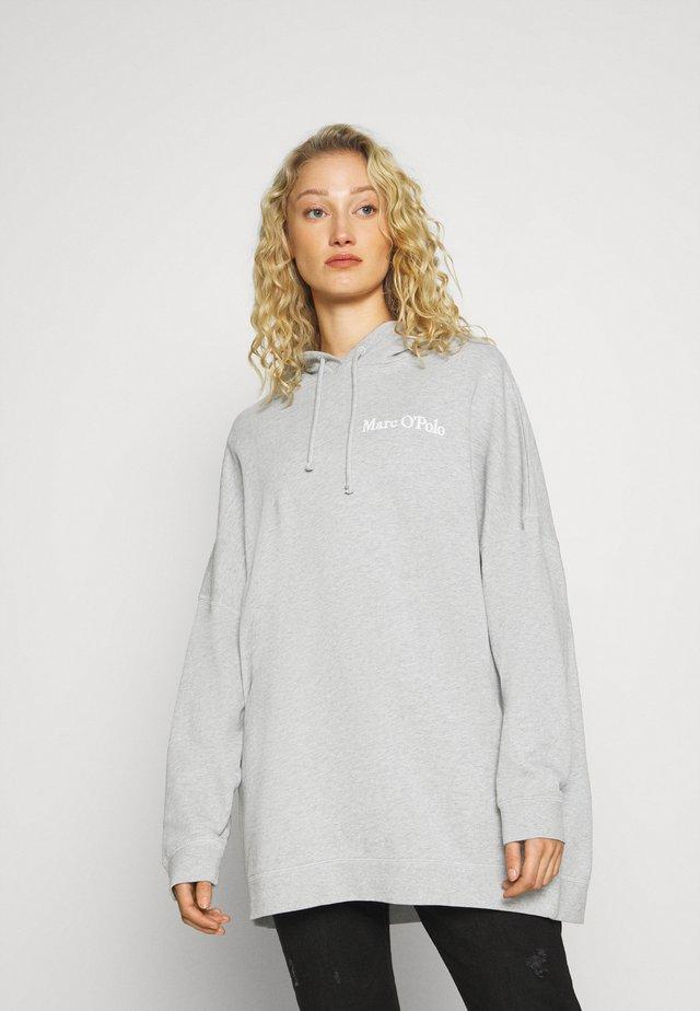 Bluza z kapturem - chalk grey melange