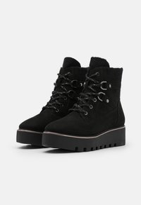 Tamaris - BOOTS - Wedge Ankle Boots - black - 2