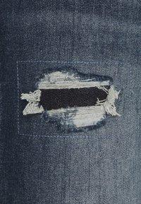 TOM TAILOR DENIM - PIERS - Džíny Slim Fit - destroyed mid stone blue denim - 2