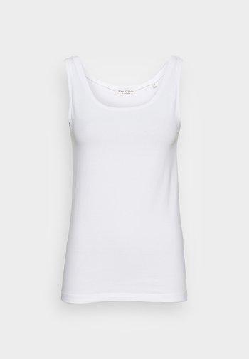 ROUND NECK - Top - white
