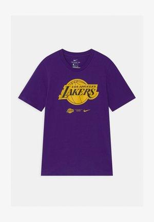 NBA LA LAKERS ESSENTIAL LOGO UNISEX - Club wear - purple