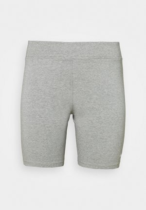 BIKER  - Shorts - grey heather/white