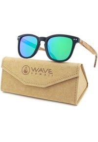 WAVE HAWAII - Sunglasses - schwarz-grün - 4