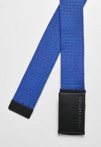 Urban Classics - 2 PACK - Belt - black+blue - 3