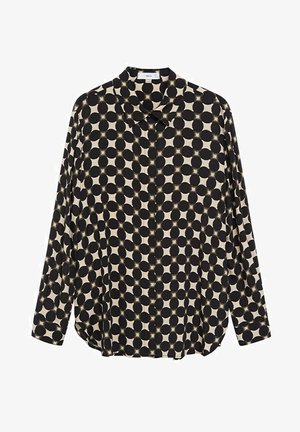 MONKEY - Button-down blouse - noir