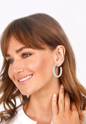 CREOLEN - Earrings - silber