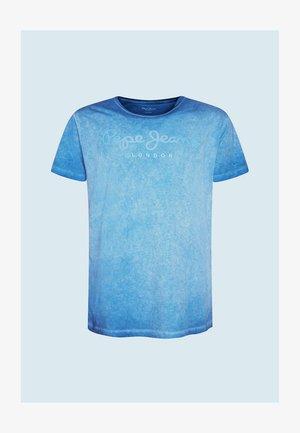 WEST SIR - Print T-shirt - bright blue