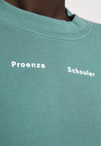 Proenza Schouler White Label - MODIFIED RAGLAN SOLID - Felpa - sage - 7