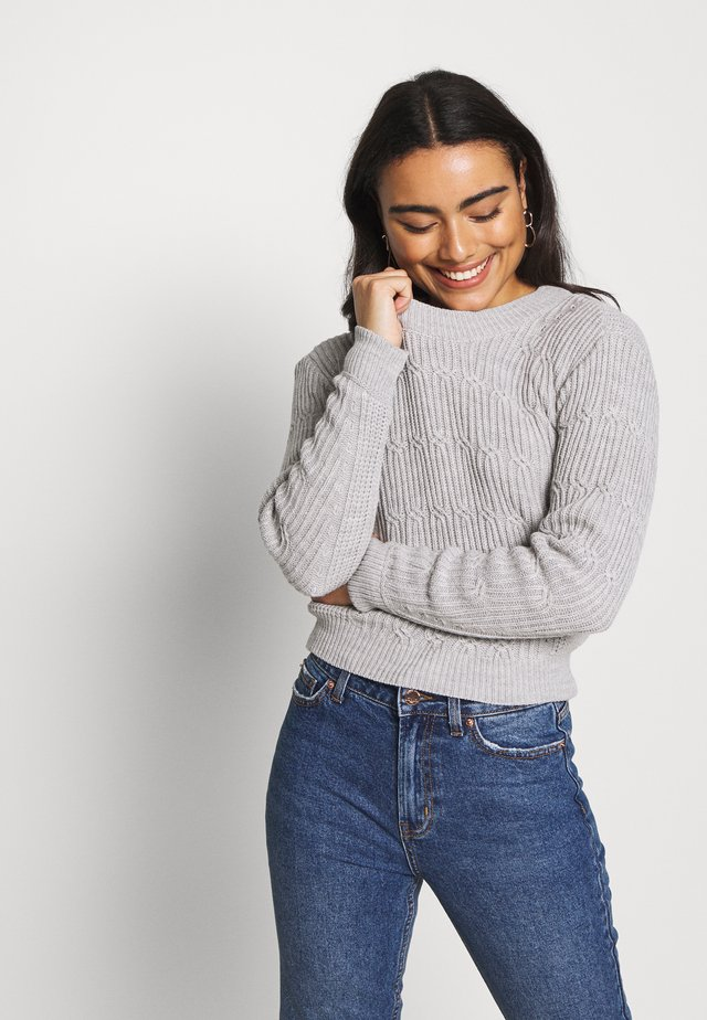 JUMPER - Pullover - grey