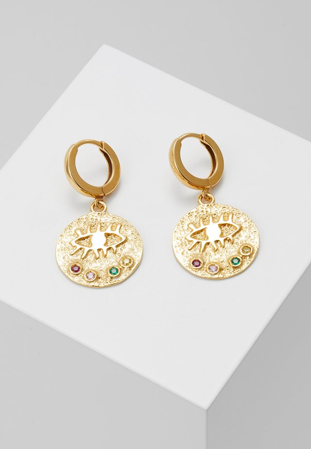 KRESSIDA SLIP ON EARRINGS - Øreringe - gold