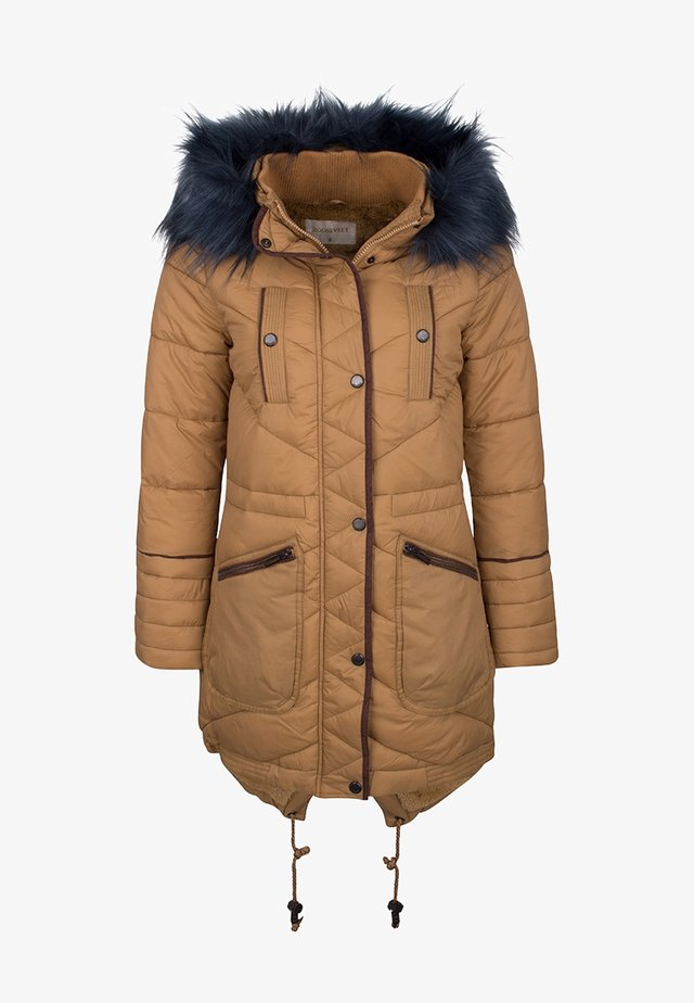 Winter coat - bronze
