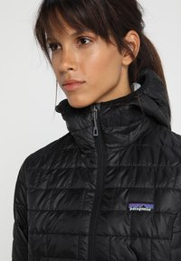 Patagonia - NANO PUFF HOODY - Outdoor jacket - black - 3