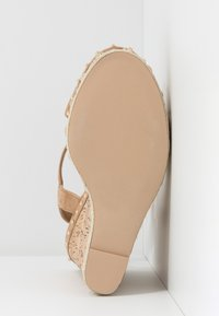 Steve Madden - MAURISA - High heeled sandals - tan - 6