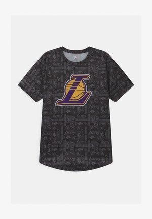 "NBA LA LAKERS ""BELIEVE THE HYPE"" SUBLIMATED UNISEX - Club wear - black"