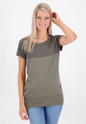 CORAAK - Print T-shirt - dust