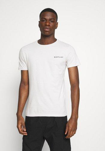 TEE - Basic T-shirt - cold grey
